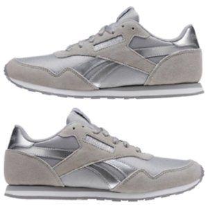 Reebok Women's Royal Ultra SL Silver Classics Sneakers Size 7.5